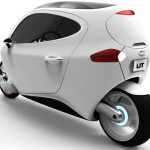 C-1 Electronic Vehicle Concept; A MotorCarBike (Video)