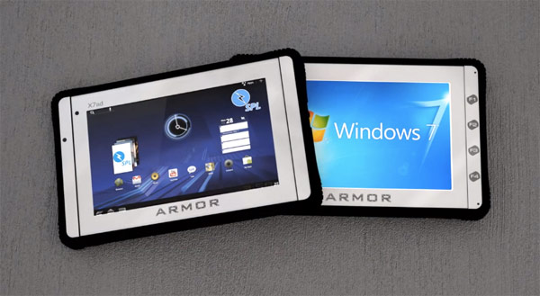 DRS ARMOR X7et, X12kb Windows 7 and X7ad Android rugged Tablets; Specs revealed