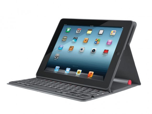 Logitech to release Solar Keyboard Folio for iPad; pricing $129.99
