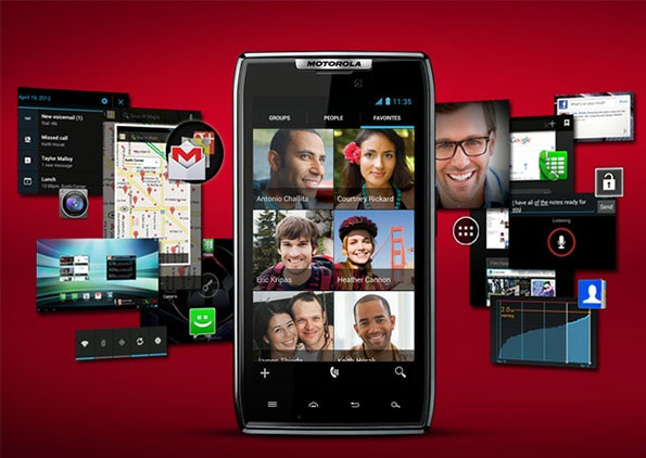 Motorola Android 4.0 ICS Update Features shown on Videos