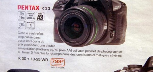 Pantex K-30 Camera spotted; pricing €799