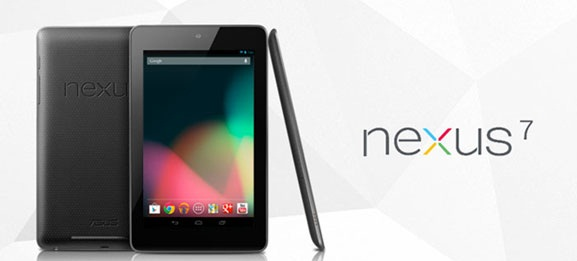 Google Nexus 7 Tablet official; Specs, Price and Availability