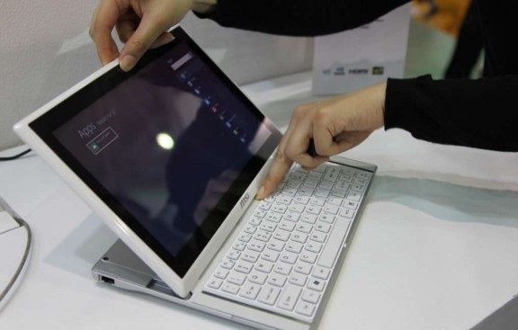 MSi Slider S20 Windows 8 Tablet Release Date and Price tipped