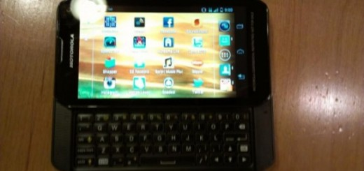 Sprint Motorola QWERTY Slider Smartphone Image spotted