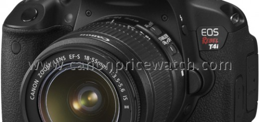 Canon EOS Rebel T4i Specs and Image leak; to debut soon