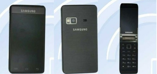 Samsung GT-B9120 Dual-screen Android for China official with Specs