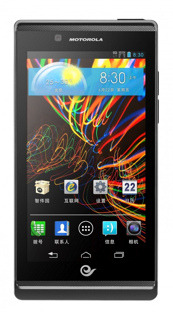 Motorola RAZR V XT889 official for China with Release Date