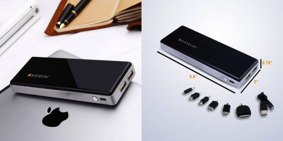 Satechi Portable Energy Station with 10,000mAh Battery; pricing $49.99