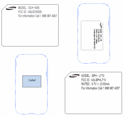 Verizon and Sprint Galaxy S III gets through the FCC