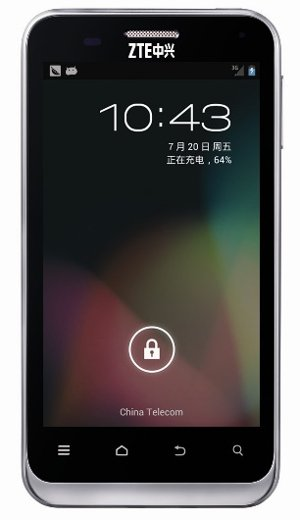 ZTE releases N880E with Android 4.1 Jelly Bean in China