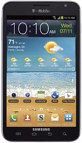 T-Mobile Samsung Galaxy Note official; releasing soon
