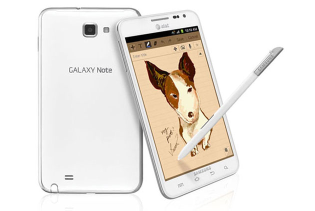 AT&T Galaxy Note gets Android 4.0 Update