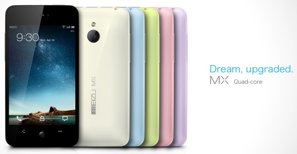 Meizu MX 4-Core now on Sale globally; pricing from $650