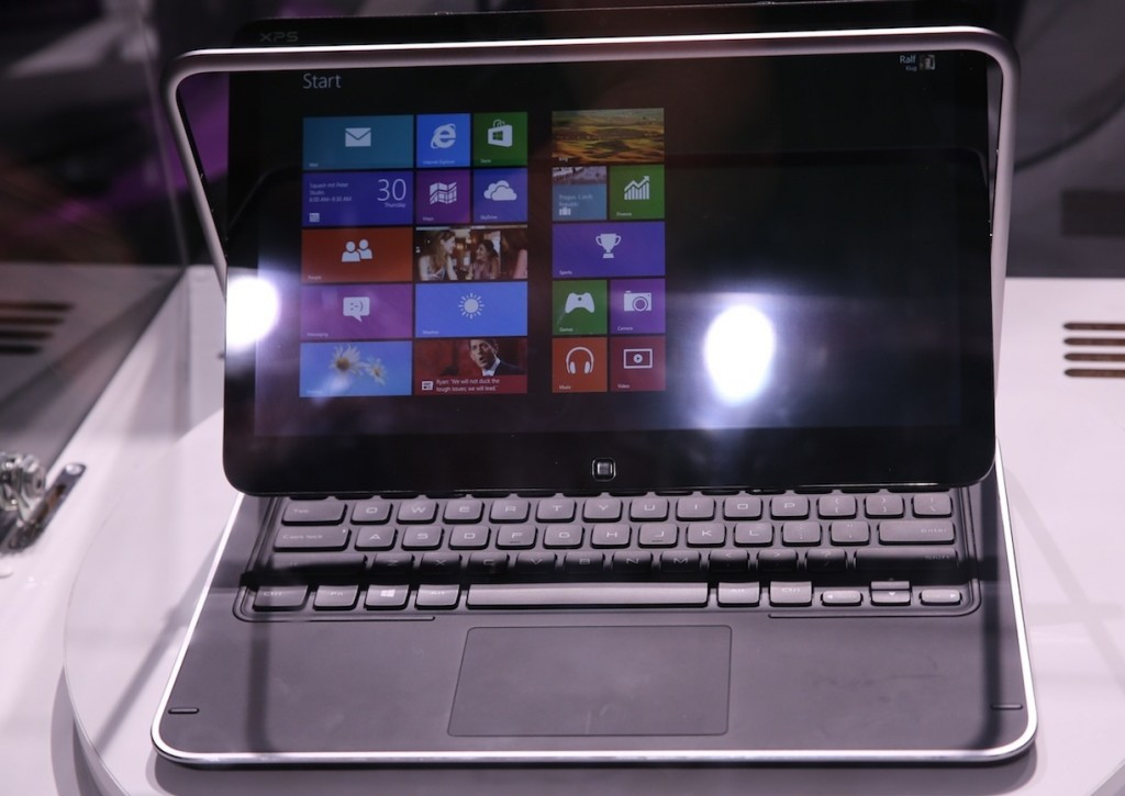 Dell XPS Duo 12 Windows 8 Tablet shown off at IFA 2012