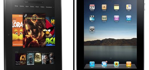 Amazon Kindle Fire HD vs Apple iPad 3