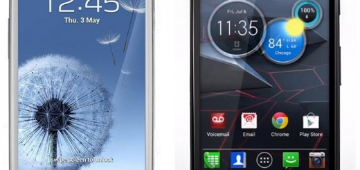 Motorola Droid RAZR HD, RAZR MAXX HD and RAZR M VS Samsung Galaxy S III; Specs Comparison