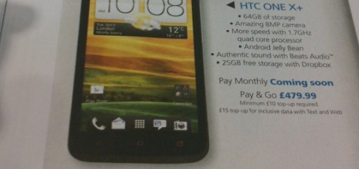 HTC One X+ spotted; Specs and Price revealed