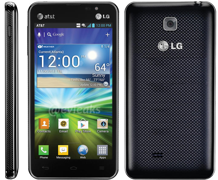 AT&T LG Escape Press Shot surfaced with Specifications