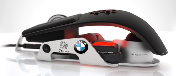 BMW and Thermaltake Level 10 M Gaming Mouse released; pricing $100