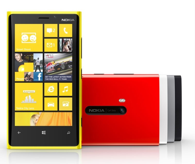 Nokia Lumia 920 and 820 WP8 Smartphones officially unveiled with Specs