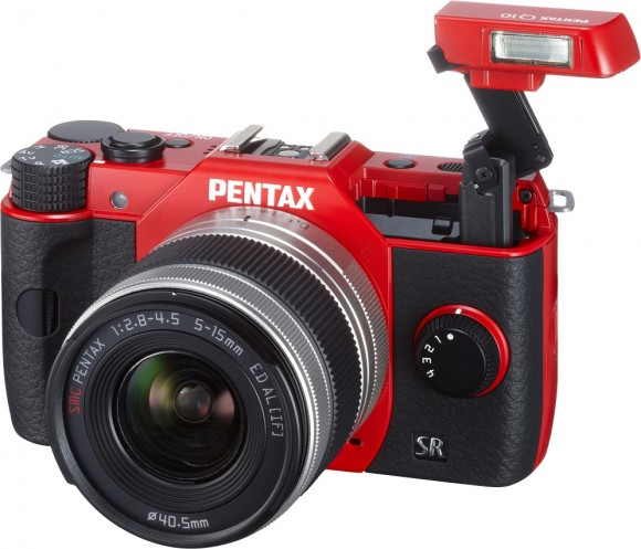 Pentax Q10 Interchangeable Lens Camera announced; pricing $599.95