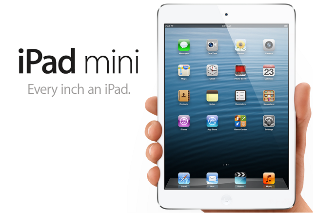 Apple iPad mini small Apple iPad mini and iPad 4 official; Specs, Price, Release Date