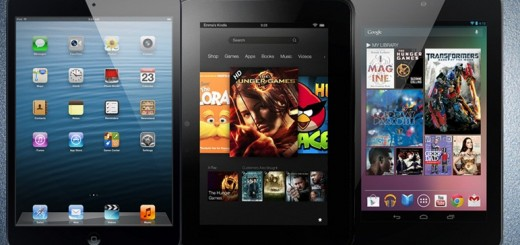 iPad mini vs Nexus 7 vs Kindle Fire HD; Specs Comparison