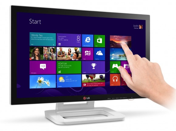 "LG ET83 23"" Touchscreen Monitor unveiled; releasing in November"