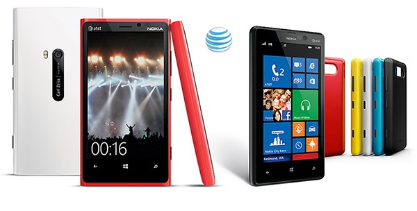 AT&T to offer Nokia Lumia 920 and 820 in November