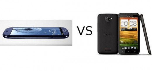 HTC One X plus vs Samsung Galaxy S III; Specs Comparison