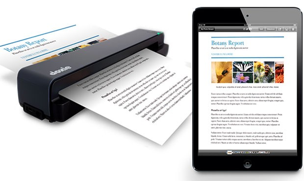 Doxie One portable Scanner launched; pricing $149