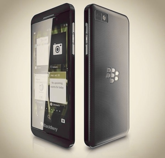 BlackBerry Z10 Specs; featuring 2GB RAM?