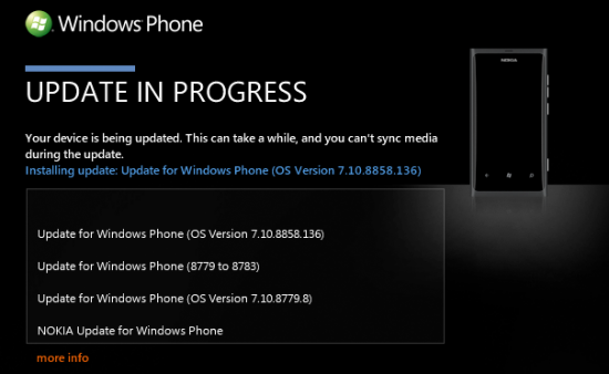 nokia lumia 800 WP 7.8 update 78 Nokia Lumia 800 gets Windows Phone 7.8 Update