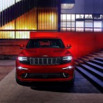 2014 Grand Cherokee SRT displayed at Detroit Auto Show