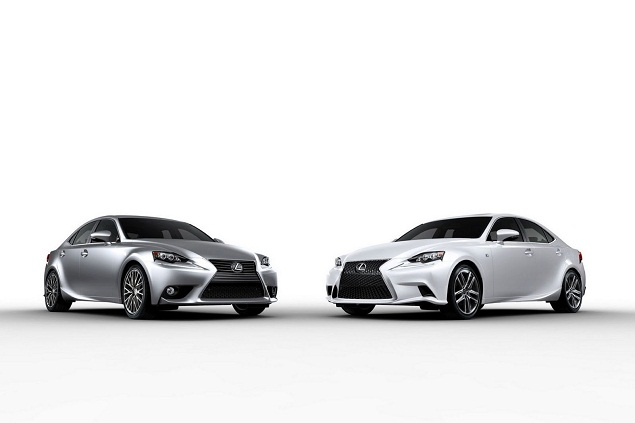 New 2014 Lexus IS 250 and 350 official at the Detroit Auto Show