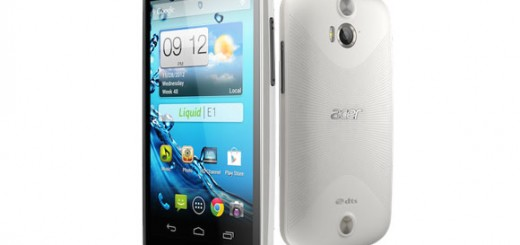 Acer Liquid E1 Smartphone announced with Specs