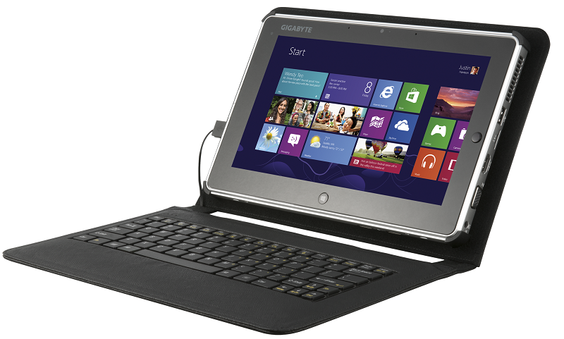 Gigabyte introduces S1185 and S1082 Windows 8 Tablets