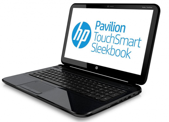 HP Pavilion TouchSmart Sleekbook 02 HP Pavilion TouchSmart and Pavilion Sleekbooks unveiled; Specs and Price