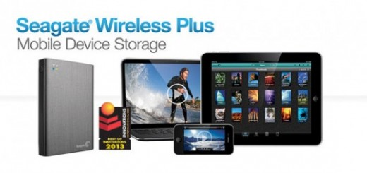 Seagate releases Wireless Plus Mobile Device Storage; pricing $199.99