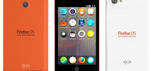 Firefox OS Keon and Peak Developer Smartphones announced; releasing in February
