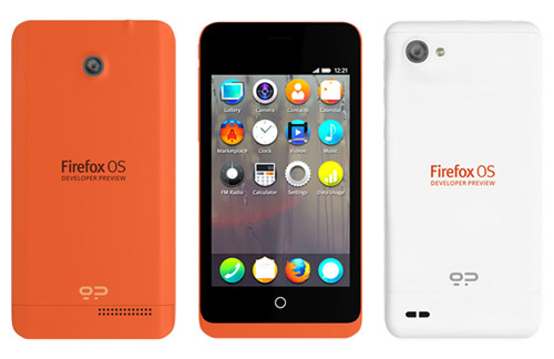Firefox OS Keon and Peak Developer Preview Phone announced; releasing in February