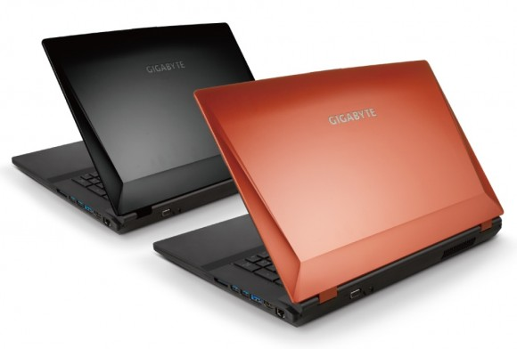 gigabyte p2742g 580x392 Gigabyte U2142, U2442 Ultrabooks and P2742G Gaming Laptop unveiled