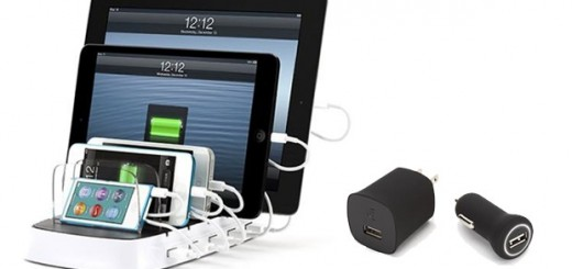 Griffin PowerDock 5 multi-device Charger and ChargeSensor Adapters announced