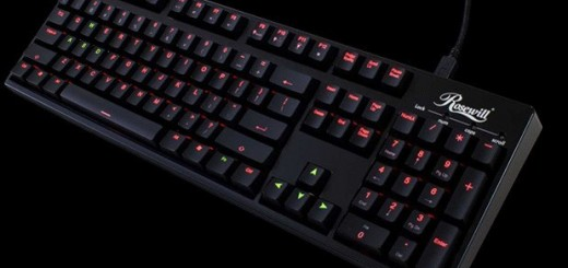Rosewill unveils Helios RK-9200 Dual-LED Backlit Mechanical Keyboard
