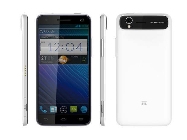 "ZTE Grand S announced; 6.9mm thick, 5"" Full HD Display"