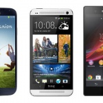 Samsung Galaxy S IV vs Sony Xperia Z vs HTC One; Spec Comparison
