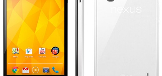 LG announces Nexus 4 White; releasing on May 29