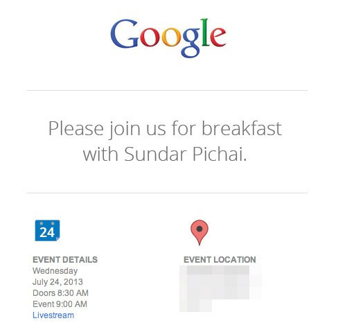 Google holding an event on July 24th; launching Nexus 7 2 and Android 4.3?