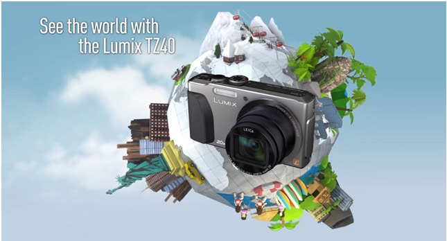 Panasonic Lumix TZ40; capture the moments