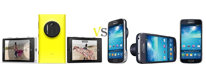 Nokia Lumia 1020 vs Samsung GS IV Zoom Nokia Lumia 1020 Vs Samsung Galaxy S IV Zoom; Spec to Spec Comparison